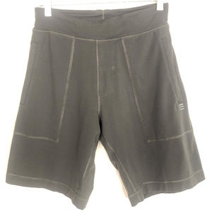Lululemon Mens Lined Running Shorts Small Gray